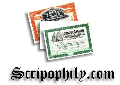 Scripophily.com - The Gift of History!